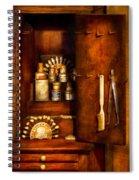 Dentist - The Dental Cabinet Spiral Notebook