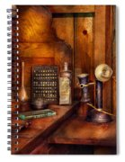 Dentist - Time For Your Next Appointment  Spiral Notebook