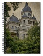 Denton County Courthouse Spiral Notebook