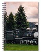 Denver And Rio Grande Western 268 Circa 1990 Spiral Notebook