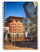 Denver Art Museum Courtyard Spiral Notebook