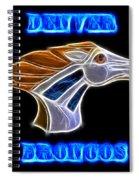 Denver Broncos 2 Spiral Notebook