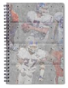 Denver Broncos Legends Spiral Notebook