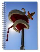 Denver Bulb Heart Spiral Notebook