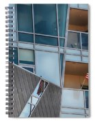 Denver Diagonal Lines Spiral Notebook