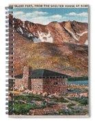 Denver Mountain Parks Antique Post Cards Spiral Notebook