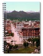 Denver Panorama 1897 Spiral Notebook