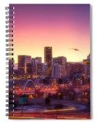 Denver Sunrise Spiral Notebook