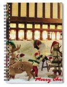 Department Store Window Spiral Notebook