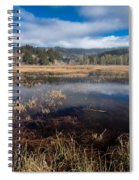Depths Of Dry Lagoon Spiral Notebook