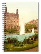 Der Deutsche Ring-cologne-the Rhine-germany -  Between 1890 And  Spiral Notebook
