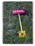 Derail Or That's Life Spiral Notebook