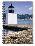 Derby Wharf Light Spiral Notebook