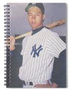 Derek Jeter New York Yankees Spiral Notebook