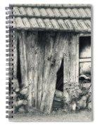 Derelict Spiral Notebook