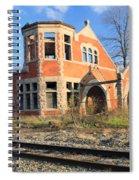 Derelict Station Spiral Notebook