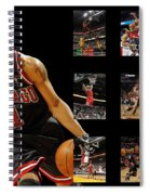 Derrick Rose Spiral Notebook
