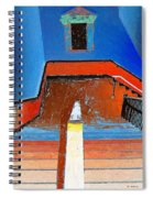 Descent Into Madness Spiral Notebook