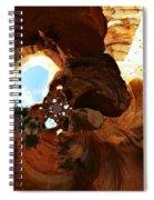 Desert Abstract Spiral Notebook