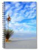 Desert Beauty White Sands New Mexico Spiral Notebook