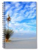 Desert Beauty White Sands New Mexico Spiral Notebook