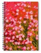 Desert Broom Abstract  Spiral Notebook