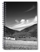 Desert Clouds Spiral Notebook