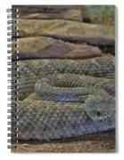 Desert Danger Spiral Notebook