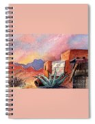 Desert Doorway Spiral Notebook