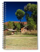 Desert Field Spiral Notebook
