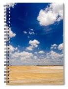 Desert Flatlands Spiral Notebook