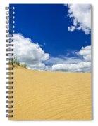Desert Landscape In Manitoba Spiral Notebook