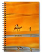 Desert Mirage Spiral Notebook