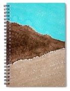 Desert Mountains Original Painting Spiral Notebook
