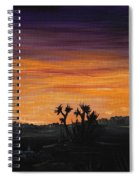 Desert Night Spiral Notebook