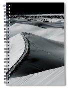 Desert Night Death Valley By Diana Sainz Spiral Notebook