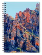 Desert Paint Spiral Notebook