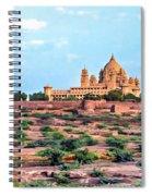 Desert Palace Spiral Notebook