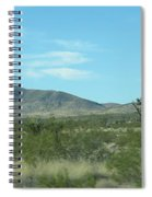 Desert Panoramic Spiral Notebook