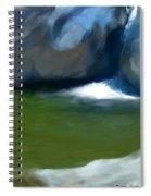 Desert Pool Spiral Notebook