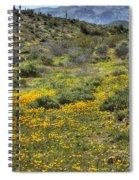 Desert Poppies Spiral Notebook