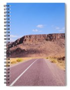 Desert Road In Morocco Spiral Notebook