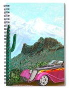 Desert Roadster 34 Ford Spiral Notebook