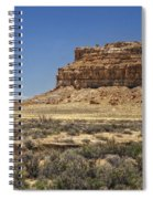 Desert Rock Formation Spiral Notebook