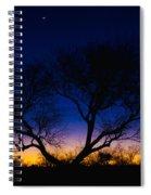Desert Silhouette Spiral Notebook