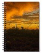 Desert Southwest Skies  Spiral Notebook
