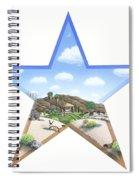 Desert Star Spiral Notebook