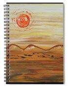 Desert Sun Spiral Notebook