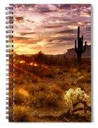 Desert Sunshine  Spiral Notebook