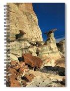Desert Towers Spiral Notebook